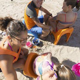 giochi in spiaggia miniclub cavallino treporti