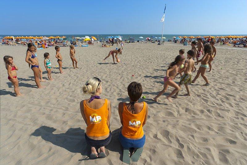 giochi in spiaggia cavallino treporti
