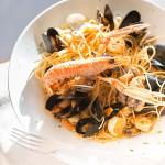 spaghetti mit fisch restaurant