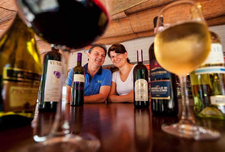 Wine Bar of the Cavallino Village near Jesolo | Ca'Berton