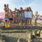 kinderspielplatz am strand cavallino