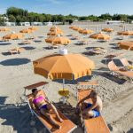 Cavallino Treporti Beach with Sunbeds