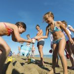 Children's Games at the Beach Cavallino