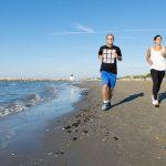jogging in spiaggia cavallino treporti
